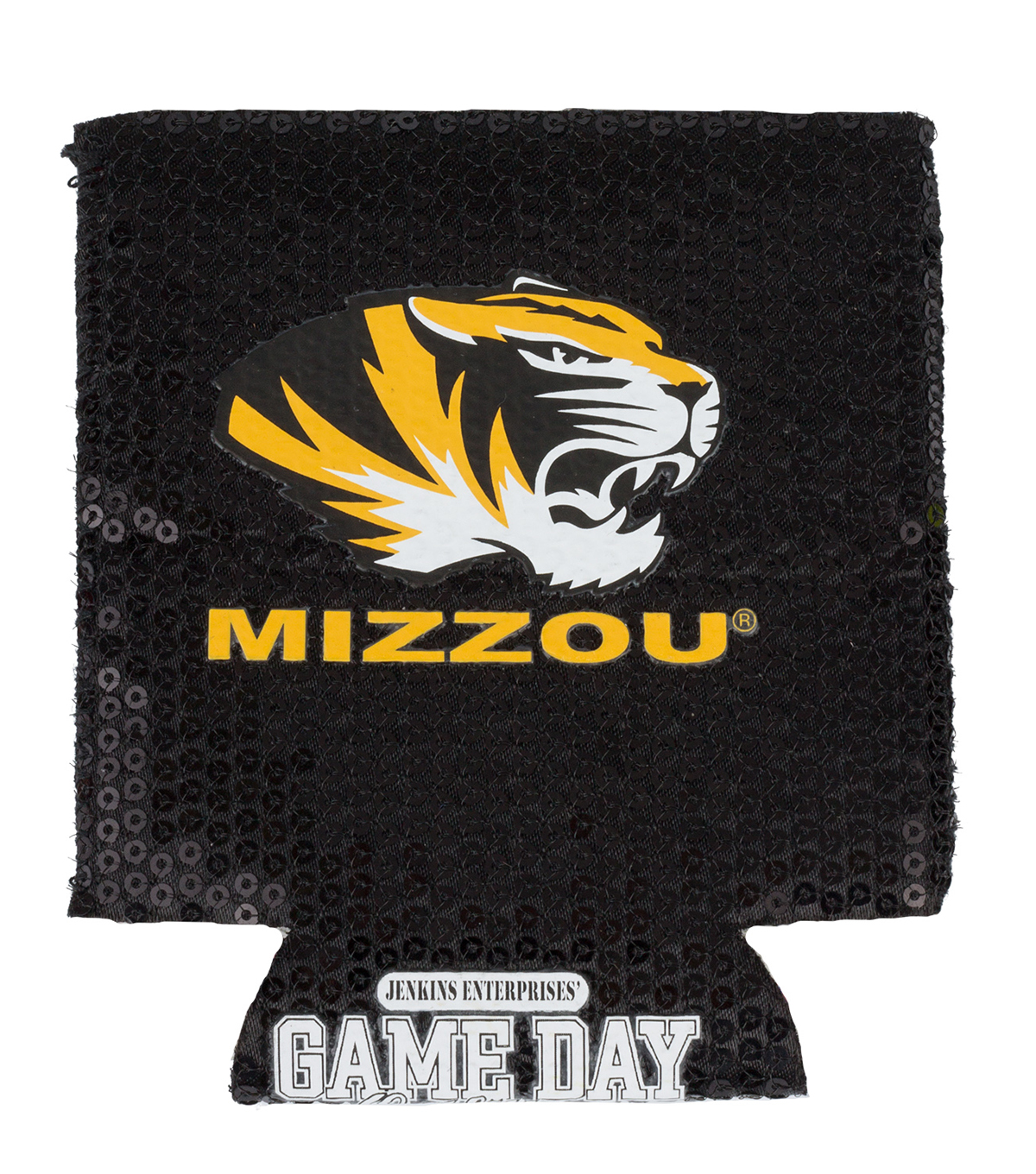 University of Missouri Tigers Sequin Koozie
