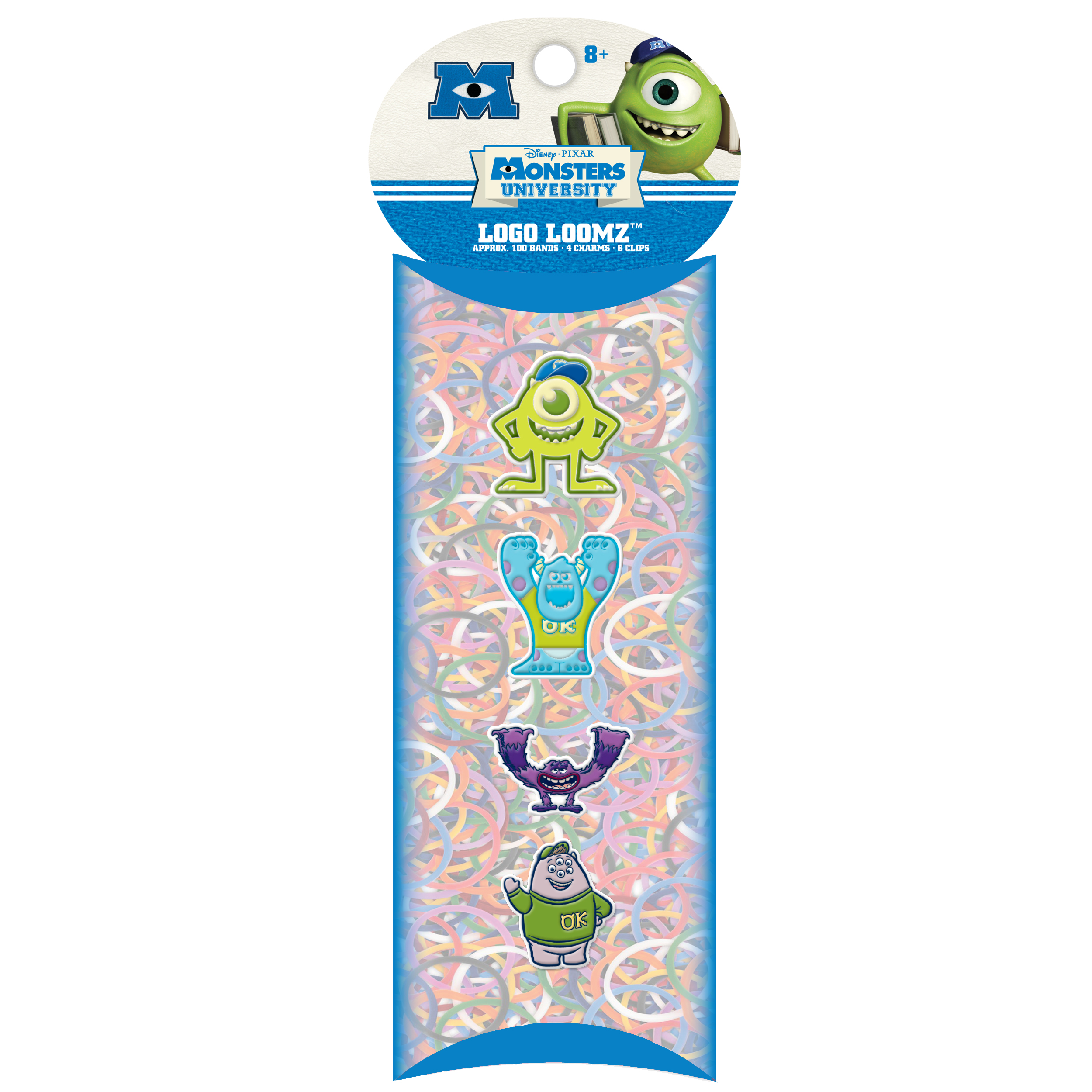 Forever Collectibles Logo Loomz Charm Pack Disney® Monsters U