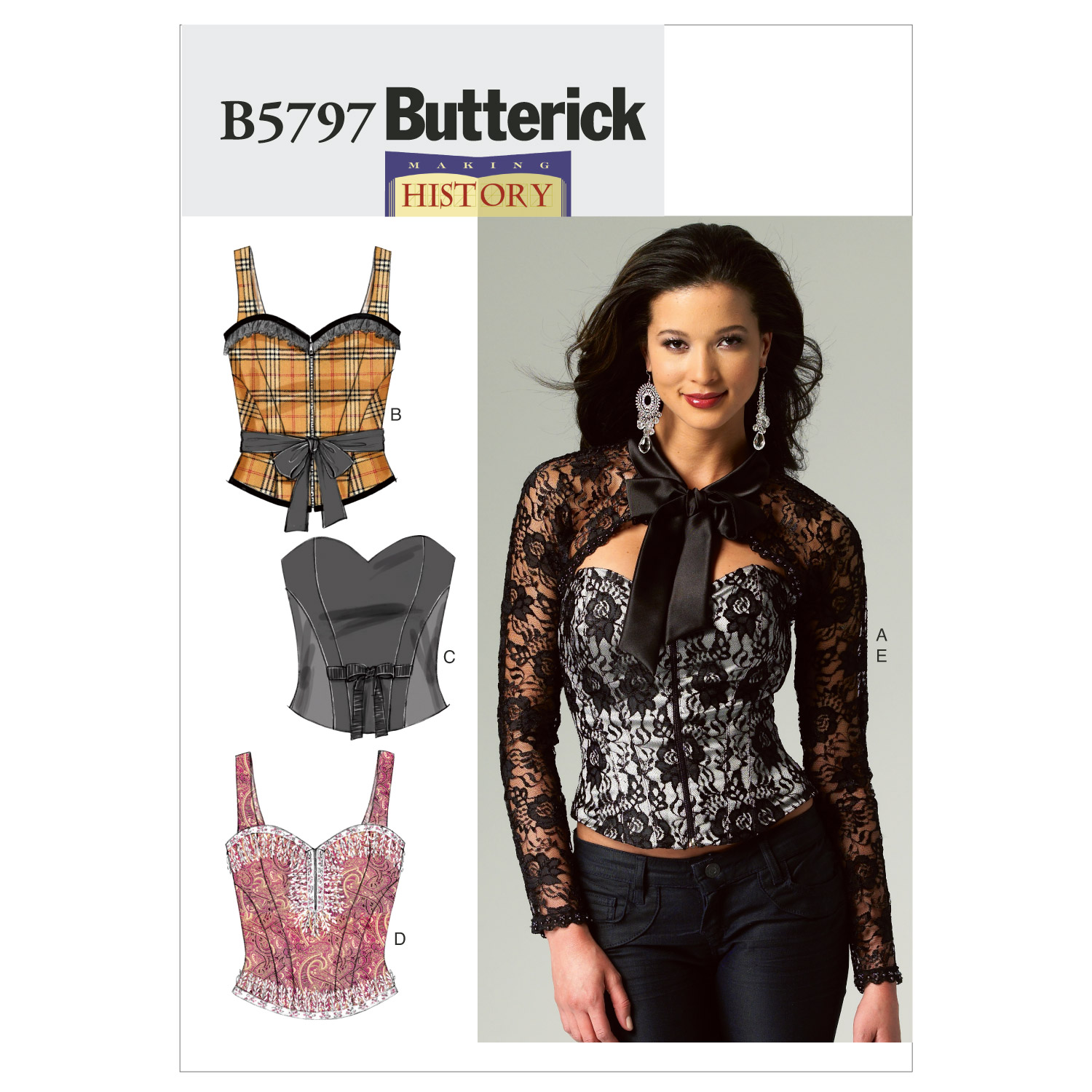 Butterick Misses Historical Costumes-B5797