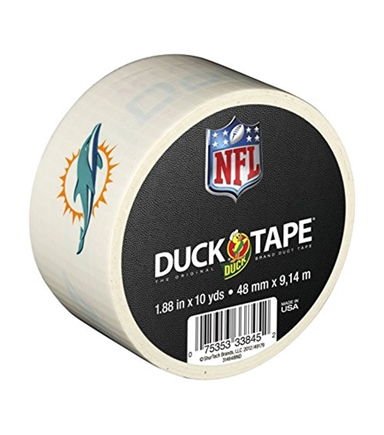 Duck NFL Logo Tape Miami Dolphins