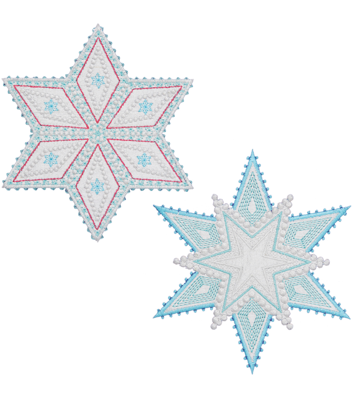 GO! Fabric Cutting Dies-Sparkle Snowflakes By Sarah Vedeler