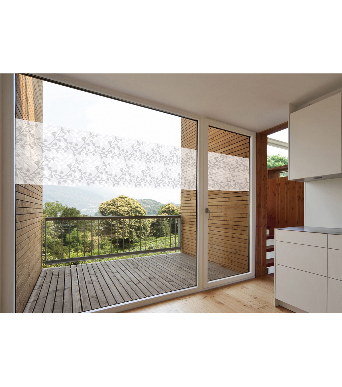 2pk Privacy Window Film-Ginkgo Window