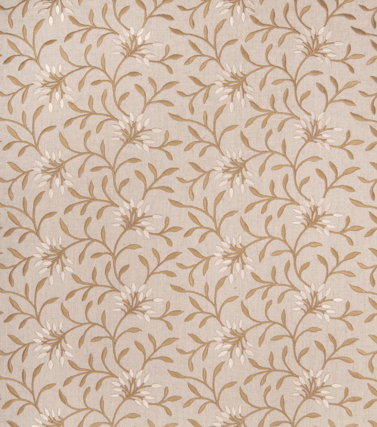 Eaton Square Print Fabric 52\u0022-Greenville/Linen