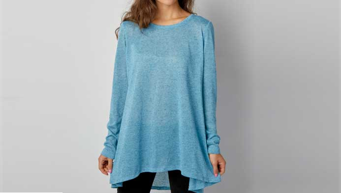 Misses Knit Tunic