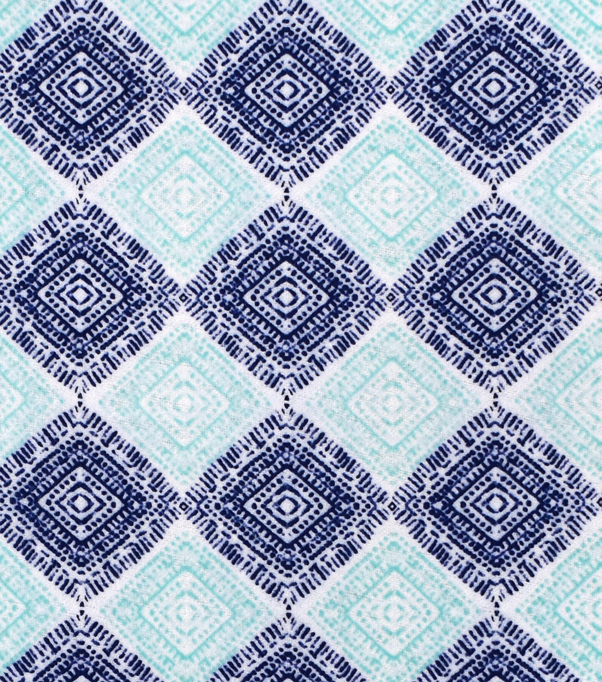 Snuggle Flannel Print Fabric 42\u0022-Blue Ink Print
