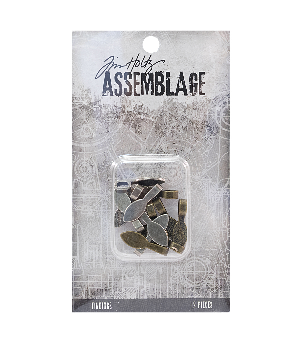 Tim Holtz® Assemblage 12 Pack Bail Findings