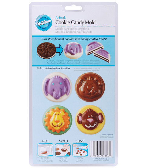 Wilton® Cookie & Candy Mold-Animals
