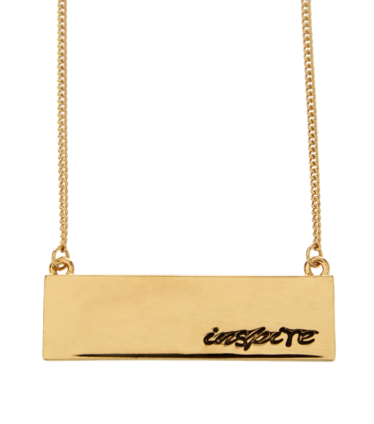 Hey Doll Gold Inspire Necklace