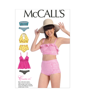 McCall's Misses Activewear-M7168