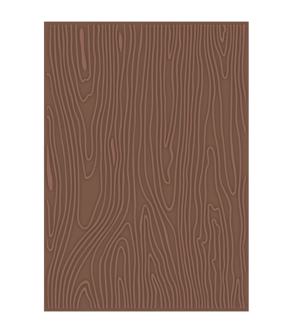 Teresa Collins Woodgrain Cottage Embossing folder by Craftwell