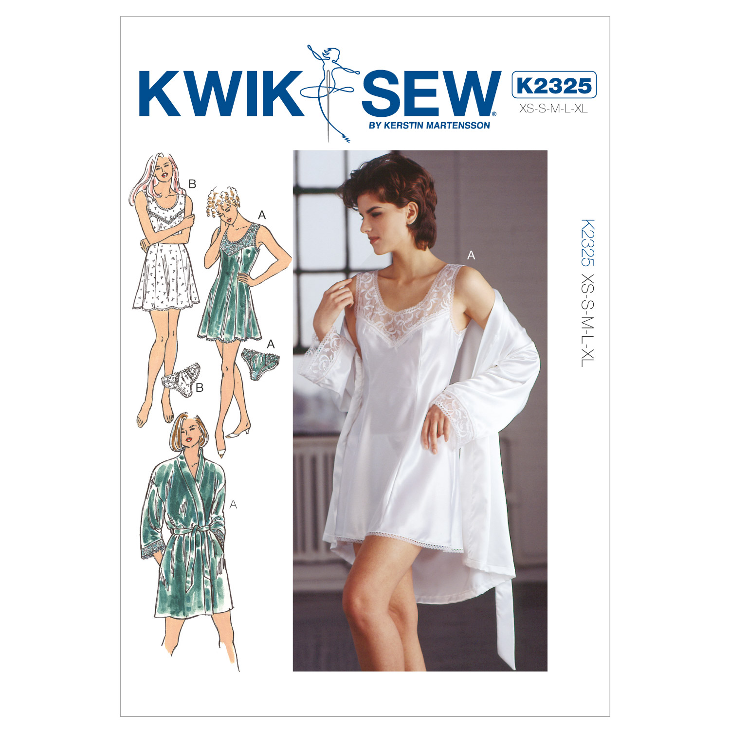 Kwik Sew Misses Sleep & Lounge-K2325