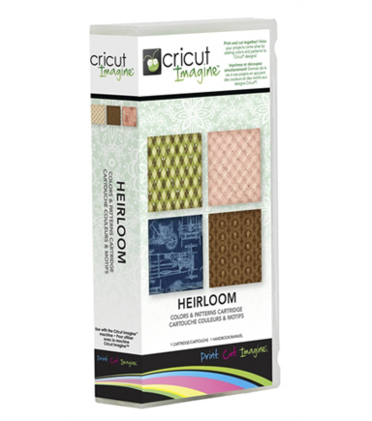 Cricut® Imagine Colors & Patterns Cartridge-Heirloom