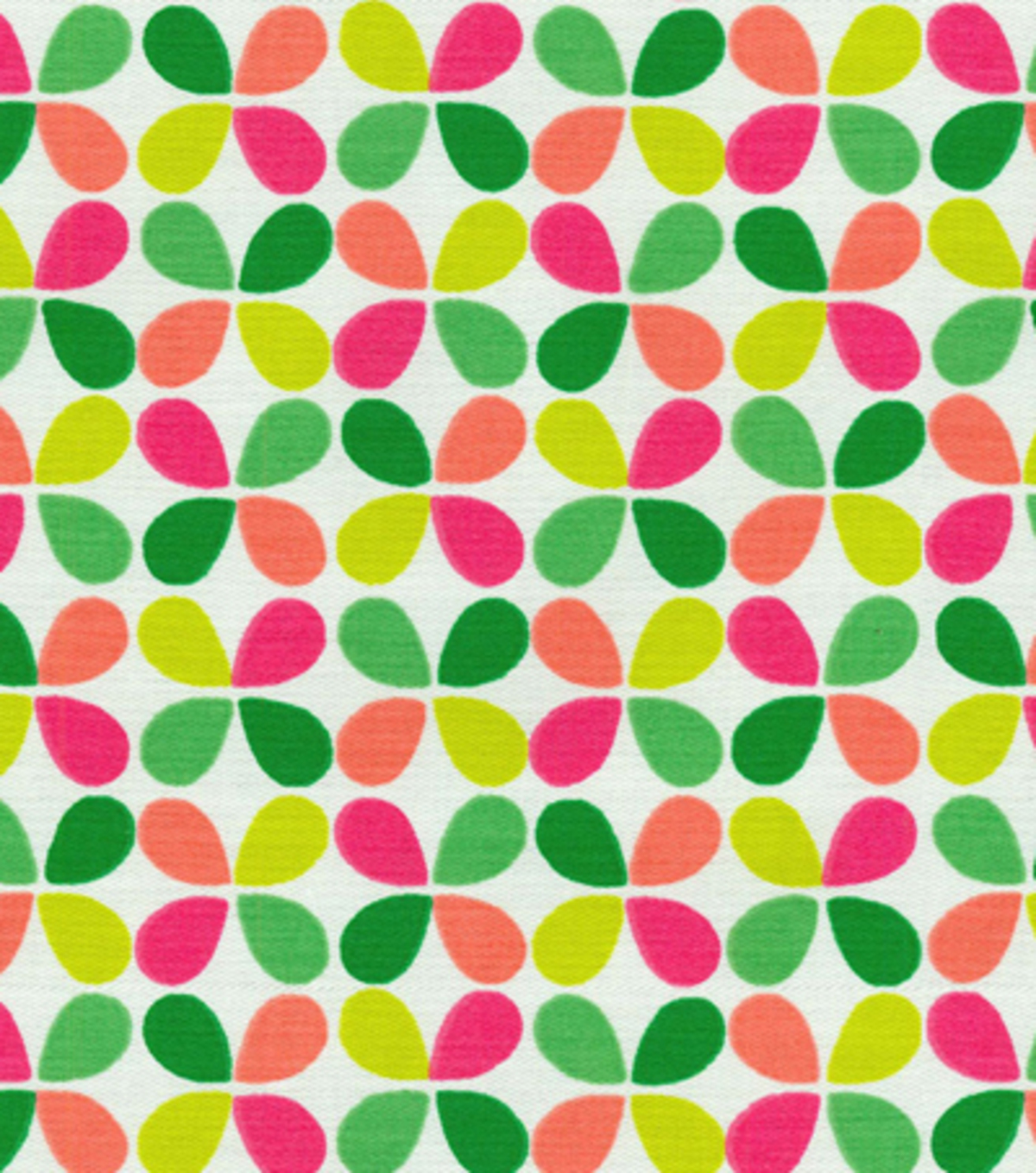 54\u0022 Modern Essentials Print Fabric-Teardrop Twirl Fruit Punch