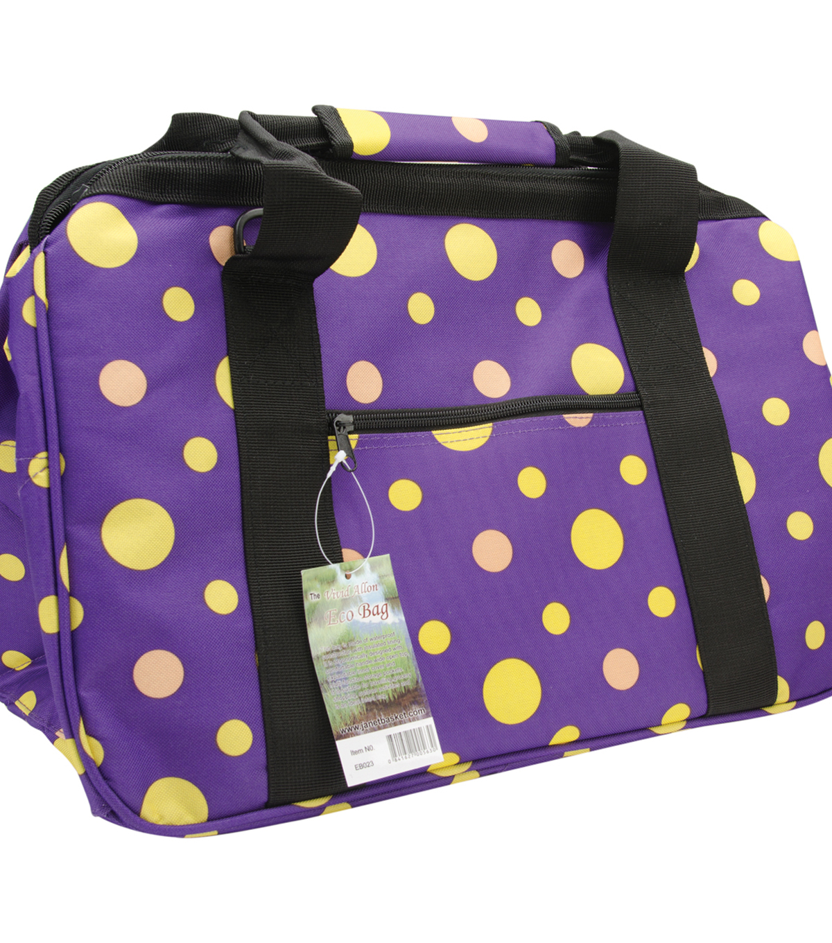 JanetBasket Eco Bag 18\u0022X10\u0022X12\u0022-Twilight