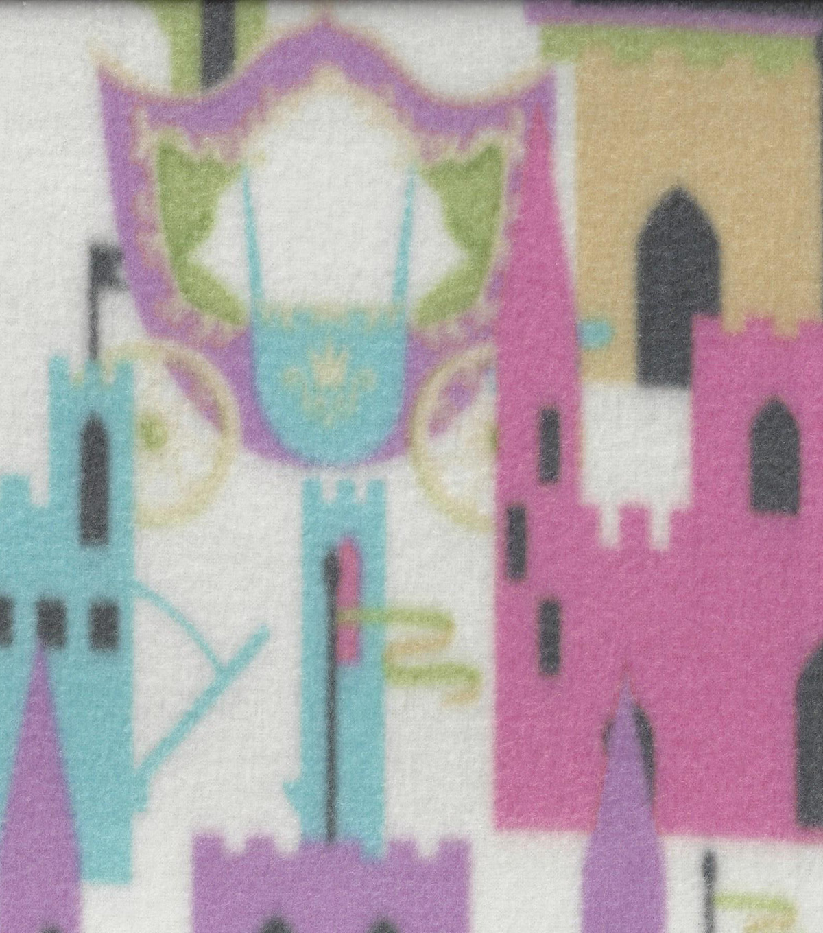 "Anti-Pill Fleece Fabric 59""-Enchanted Pastel"