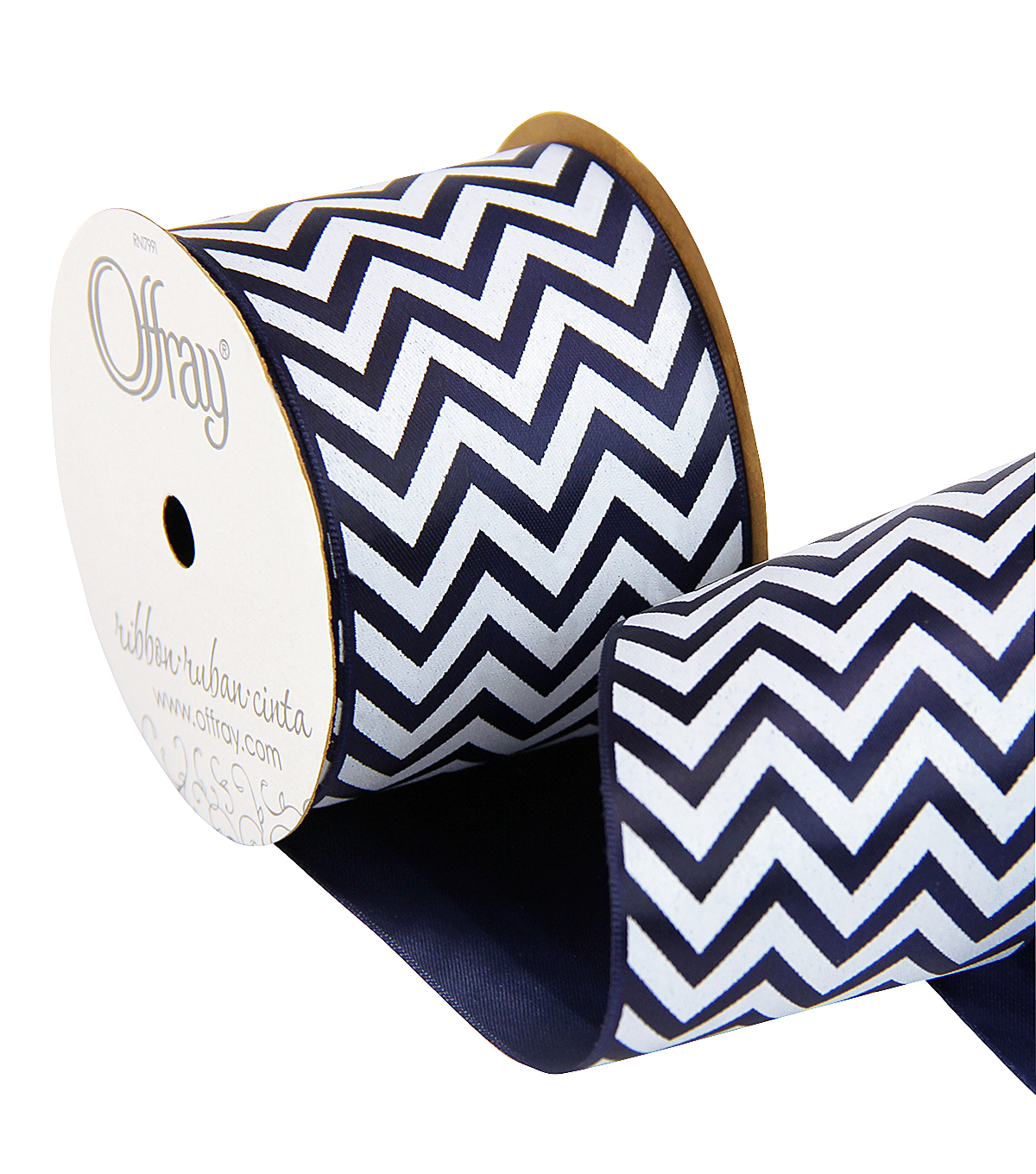 2 And One Qtr Sailor Retreat Chevron Ribbon