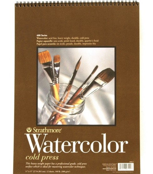 "Watercolor Paper Block Pads 11""X15"""