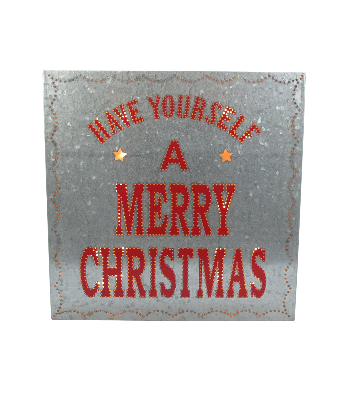 Maker\u0027s Holiday Metal Wall Decor-Merry Christmas