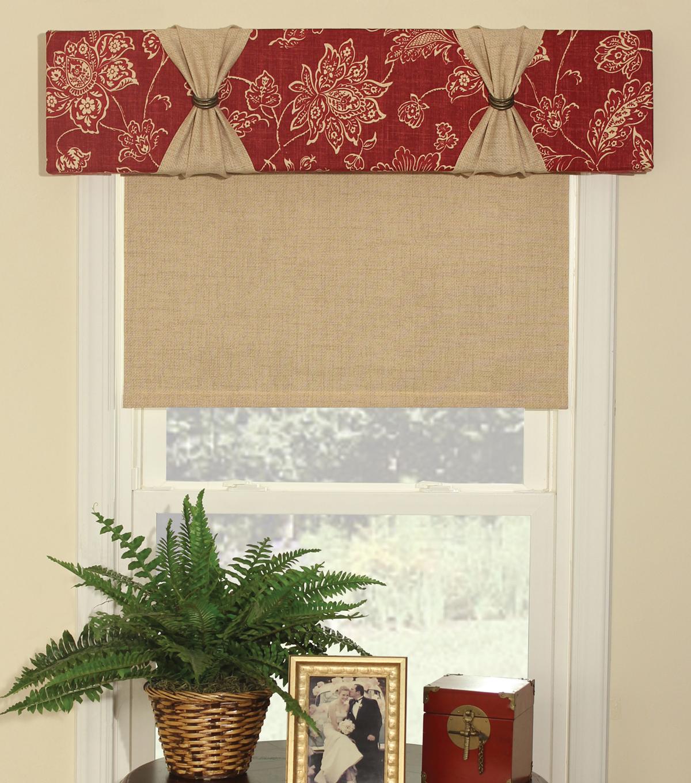 June Tailor Quick Easy Cornice No Sew Window Treatment Kit