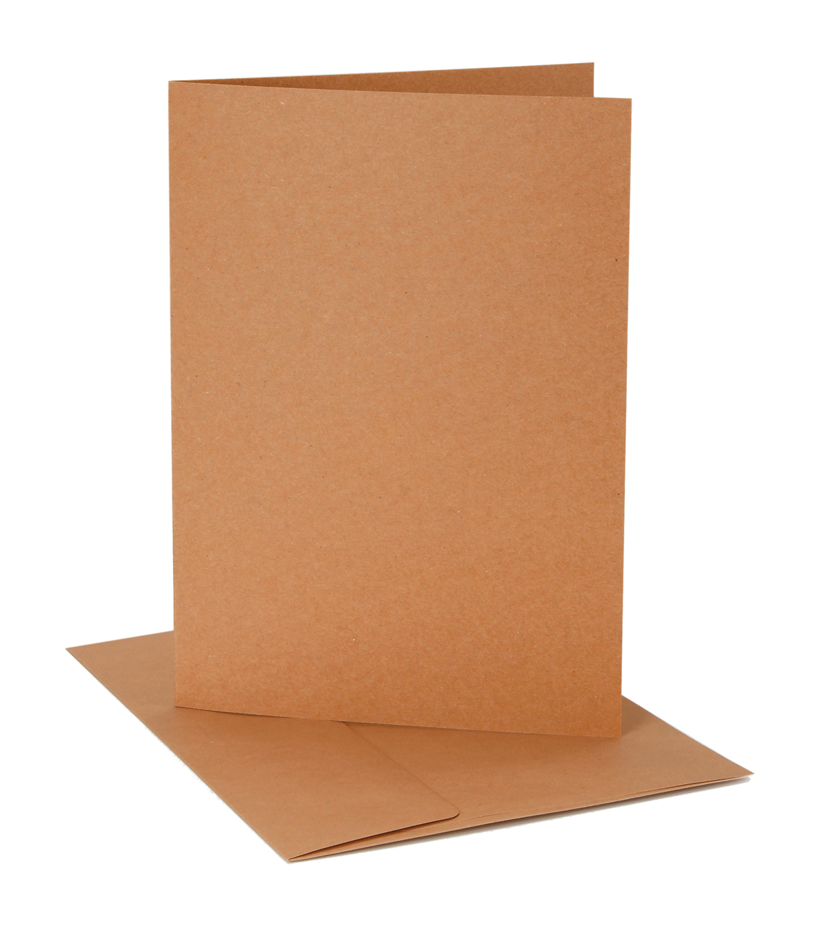 Core\u0027dinations Card/Envelopes:  A7 Kraft; 12 pack