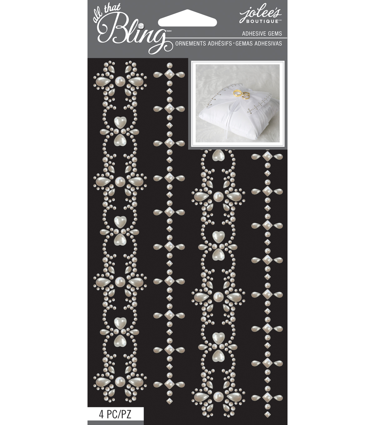 Jolee\u0027s Boutique All That Bling Borders Wedding Bling