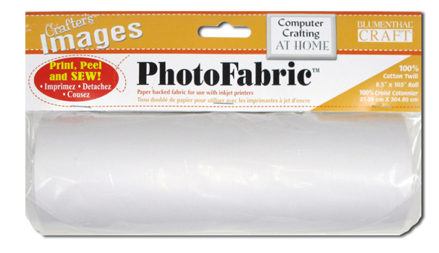 Crafter\u0027s Images PhotoFabric 100% Cotton Twill Roll