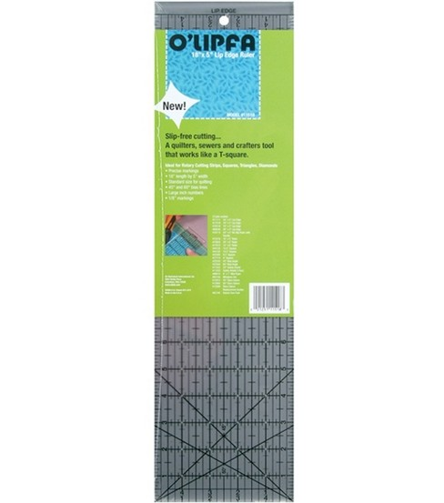 O\u0027lipfa Ruler With Lip Edge-18\u0022X5\u0022