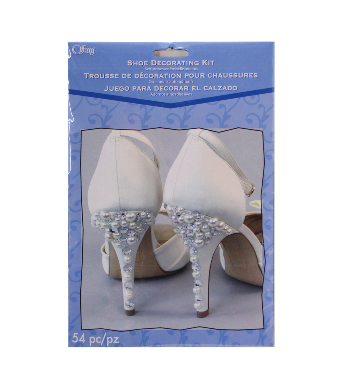 Pearl Shoe Decorating Kit