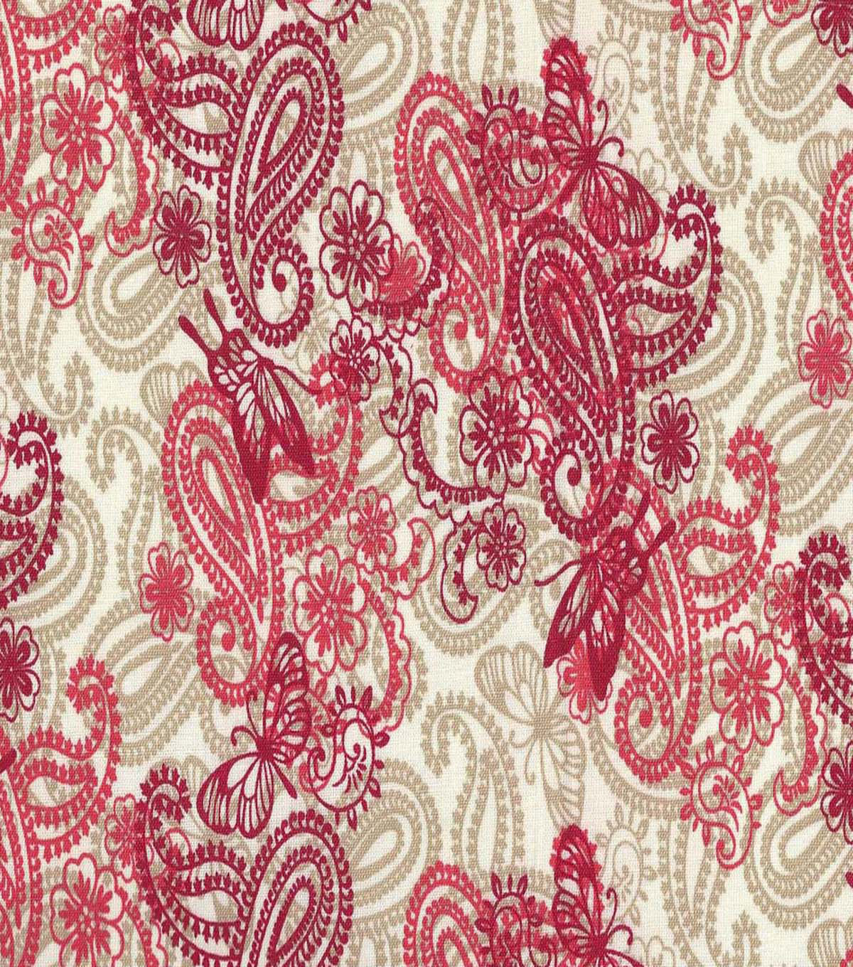 Keepsake Calico™ Cotton Fabric 44\u0022-Pailey Apple