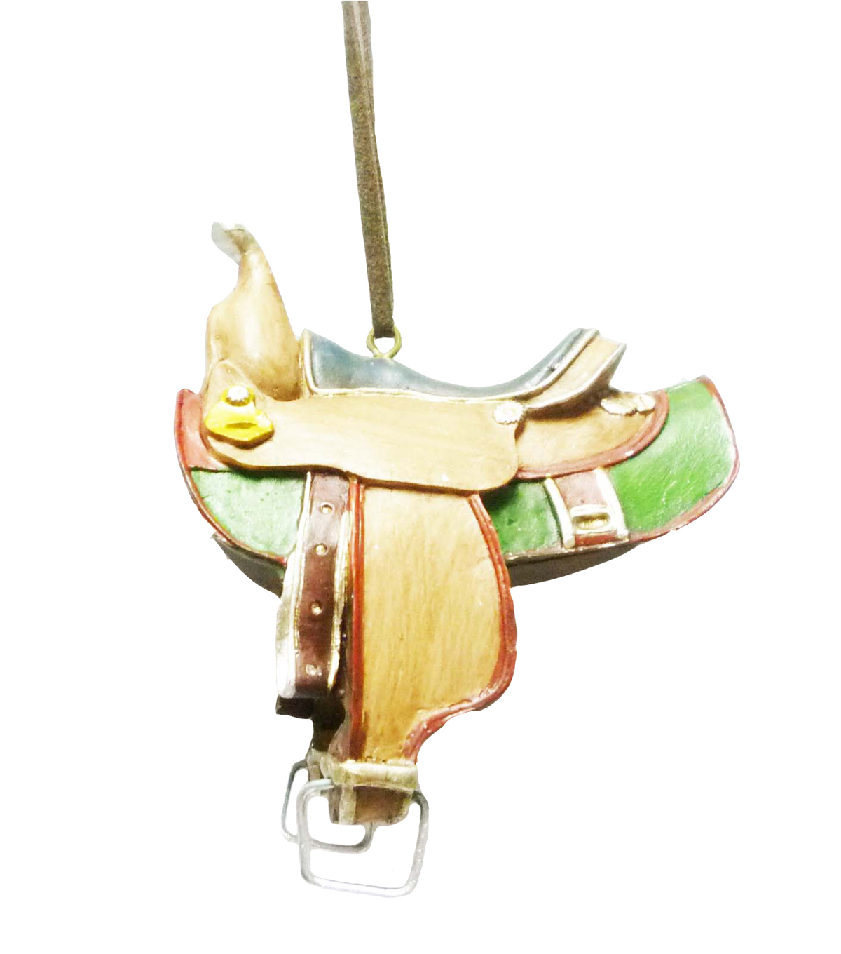 Maker's Holiday Saddle Ornament