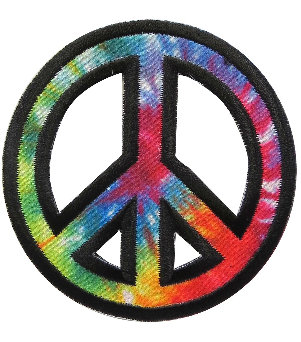 Simplicity® Embroidered Iron-On Applique-Peace