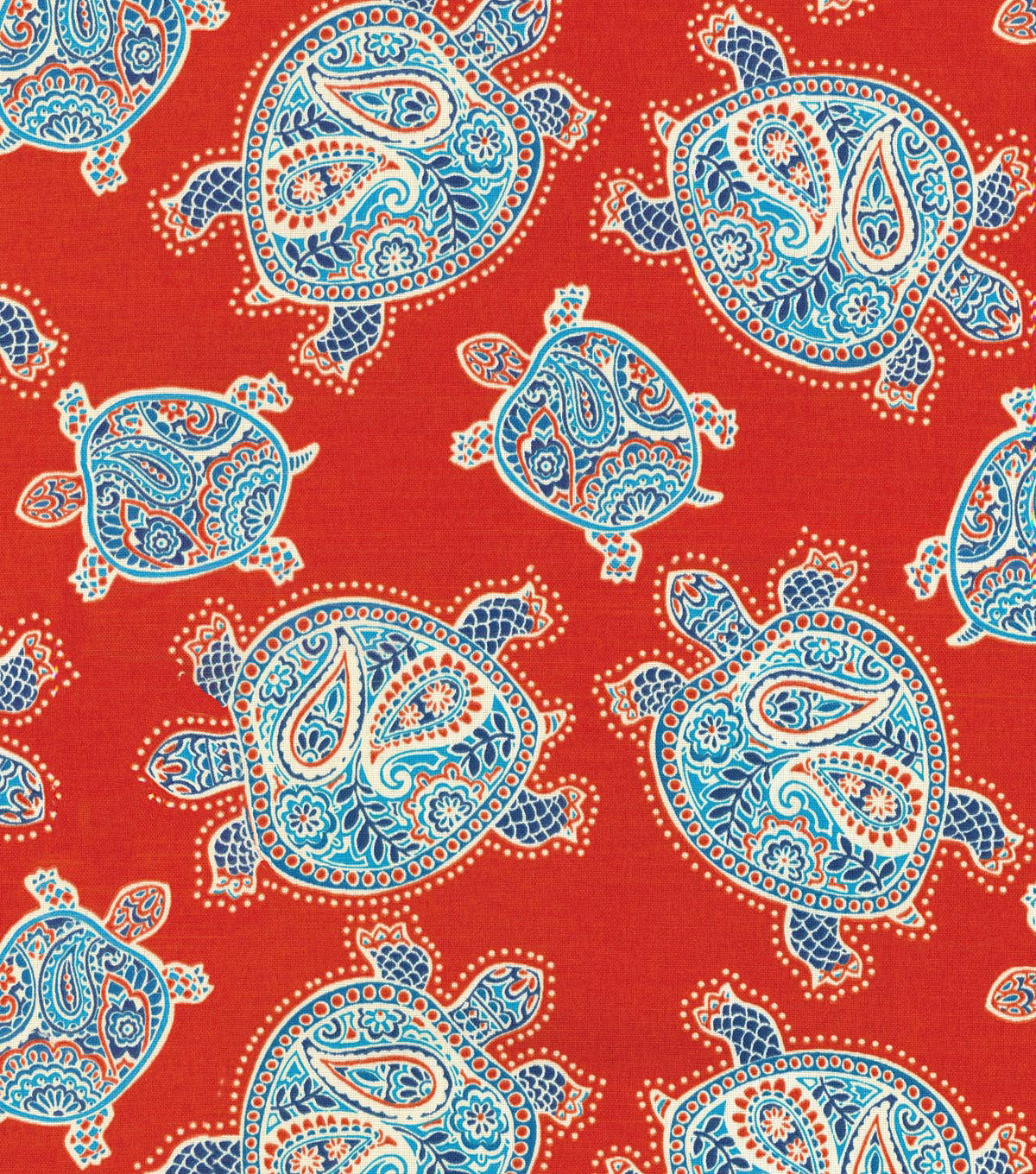 Tommy Bahama Outdoor Fabric 54\u0022-Tranquil Turtles Black Lava