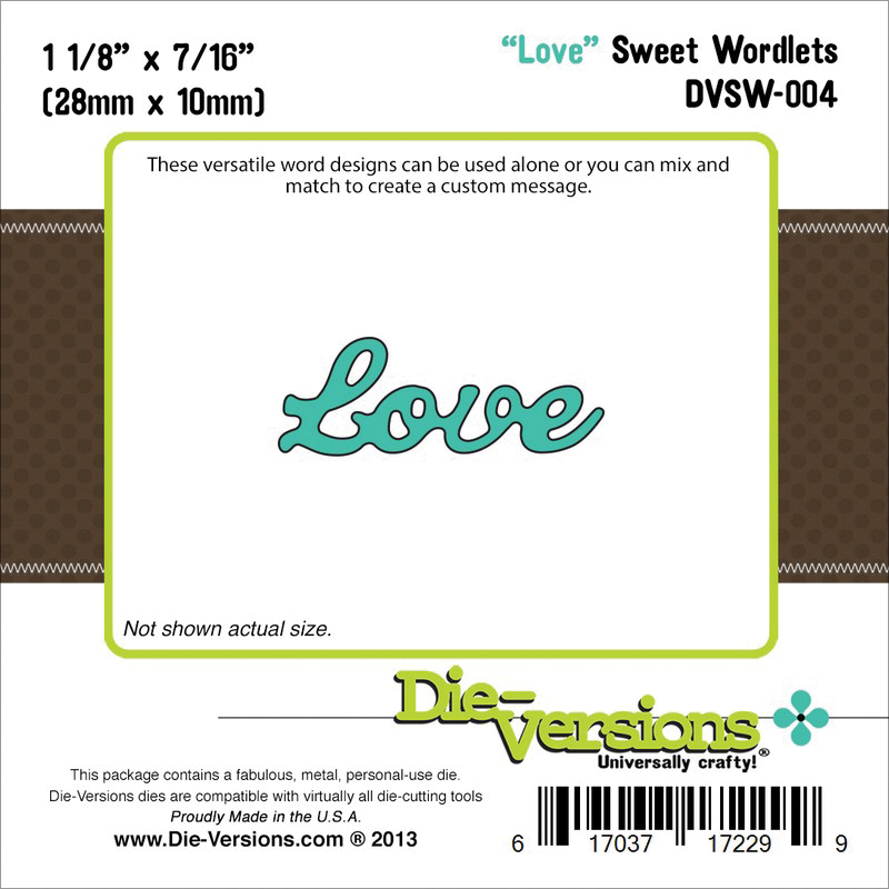 Die-Versions Sweet Wordlets Die Love