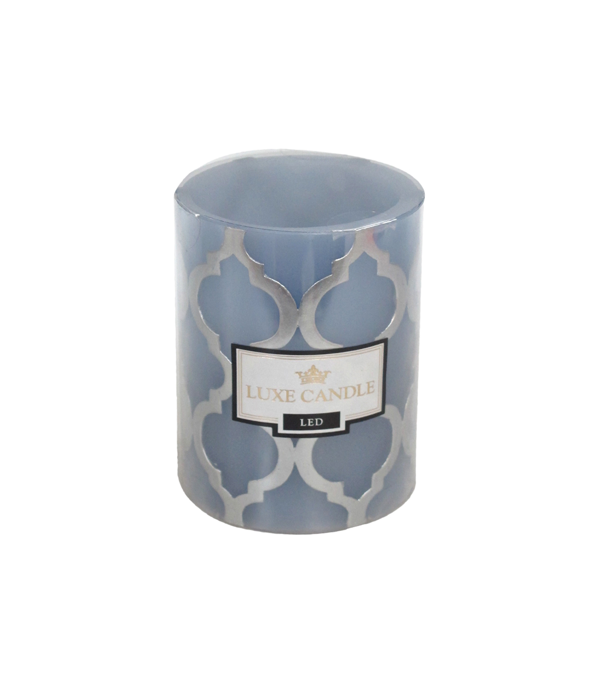 Luxe 3X4 LED Pillar Candle-Unsented