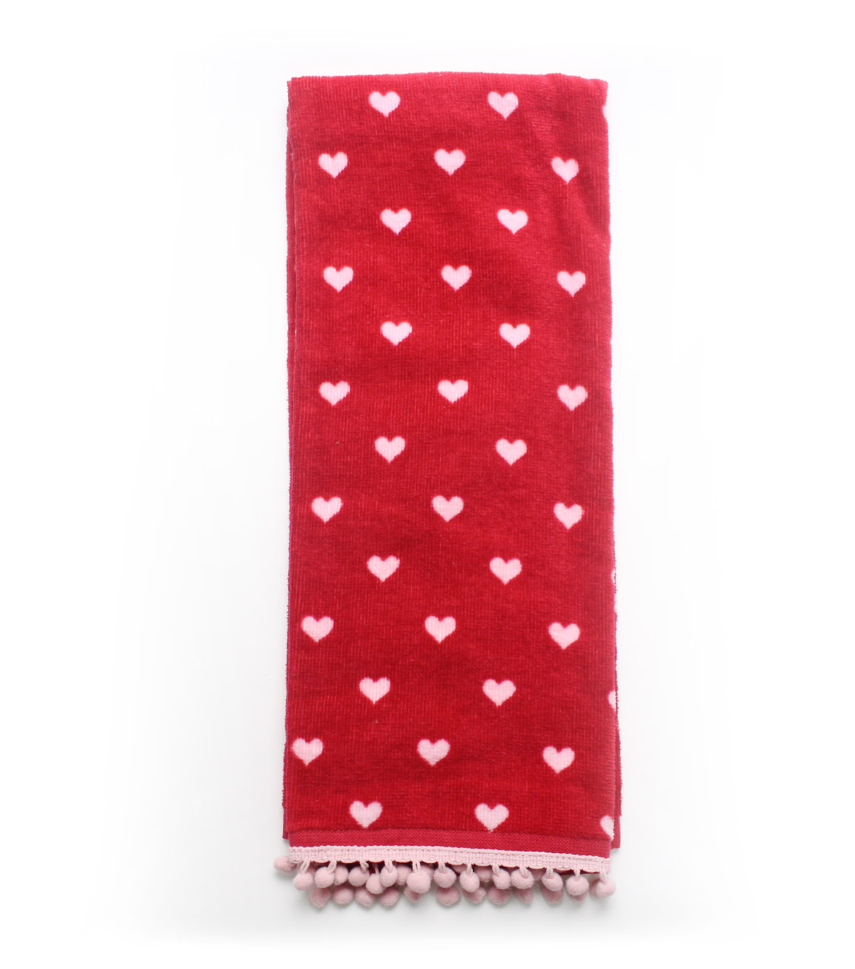Valentine\u0027s Day Terry Hand Towel-Heart