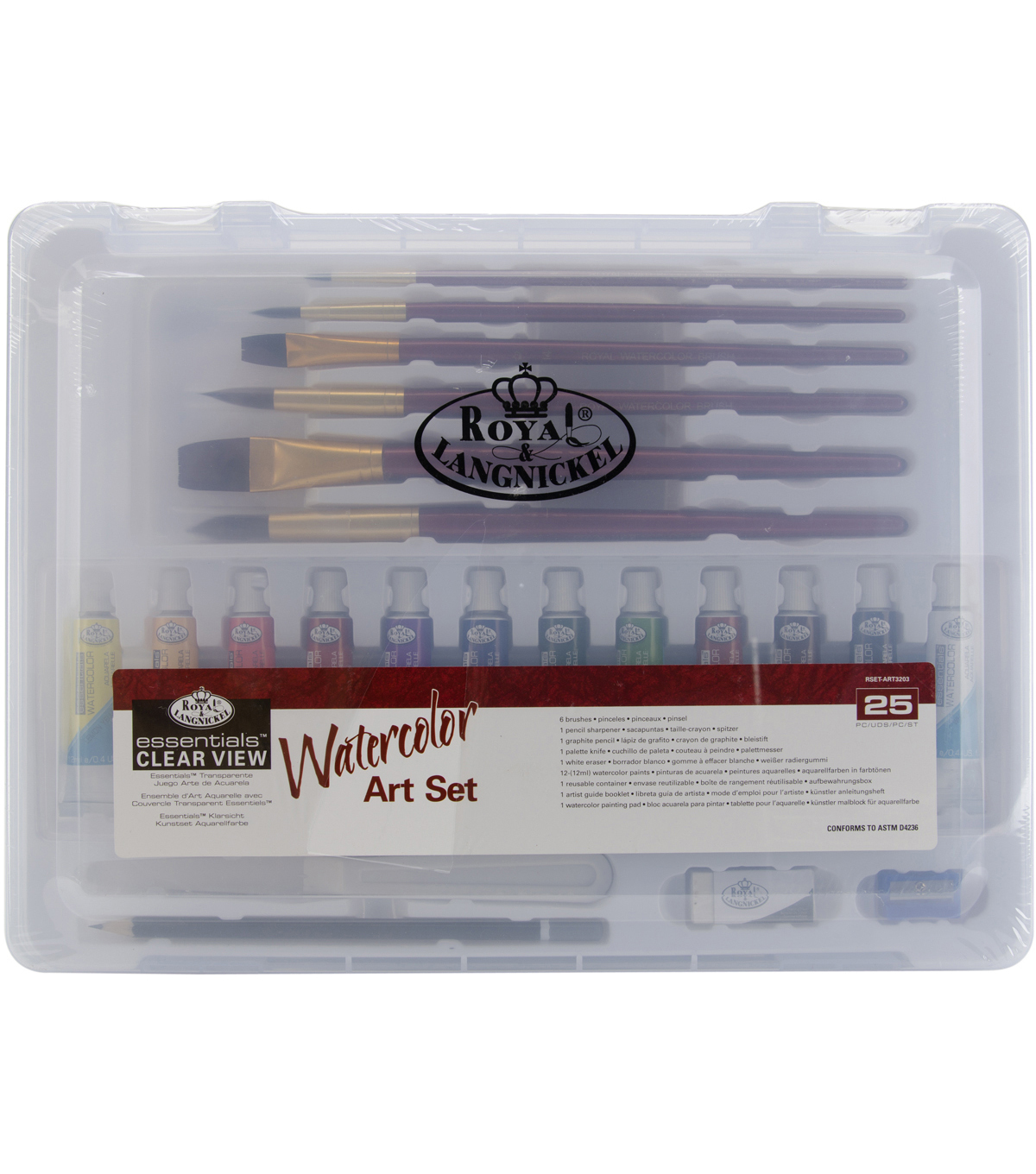 Clearview Medium Watercolor Painting Art Set-