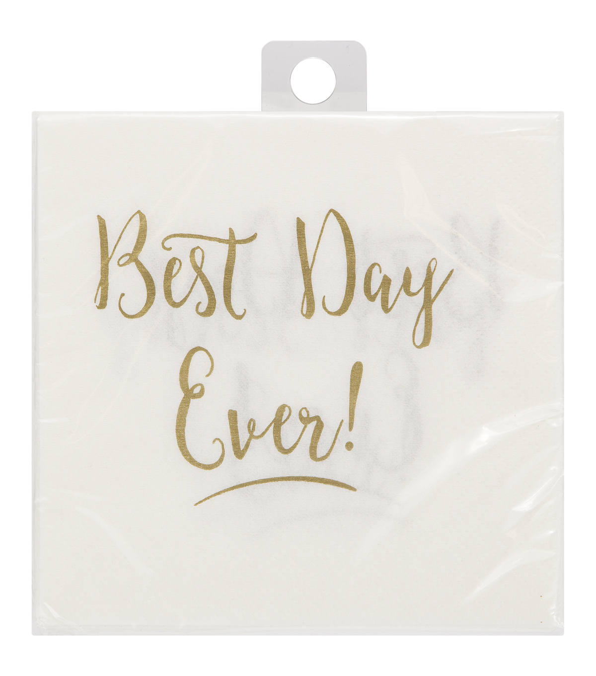 Save The Date™ Pack of 20 Cocktail Napkin-Best Day Ever