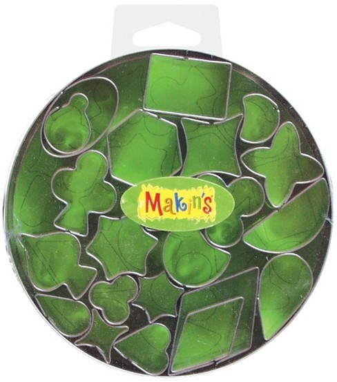 Makin\u0027s Clay Cutter Set Geo 22/Pkg