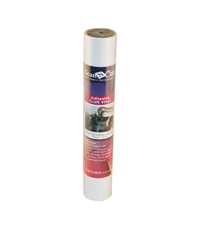 "Brother ScanNCut 12""x6' Adhesive Craft Vinyl Roll-White"