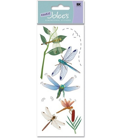 A Touch Of Jolees Dimensional Stickers-Dragonflies