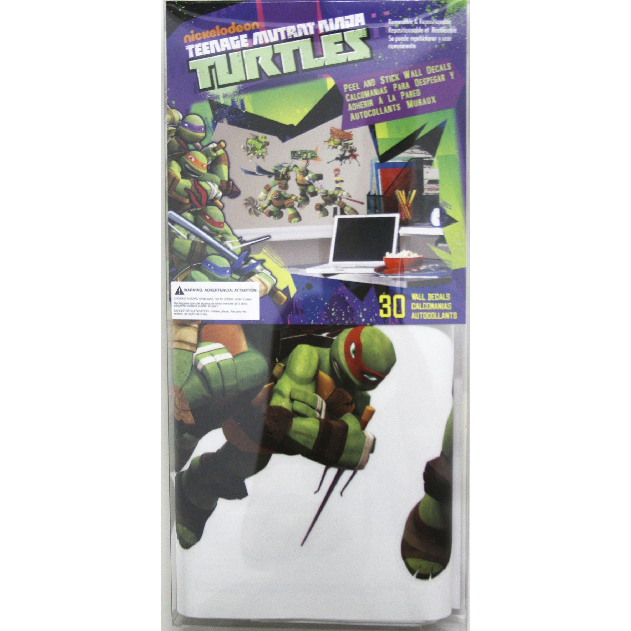 Teenage mutant ninja turtles wall decals joann teenage mutant ninja turtles peel and stick wall decals amipublicfo Image collections