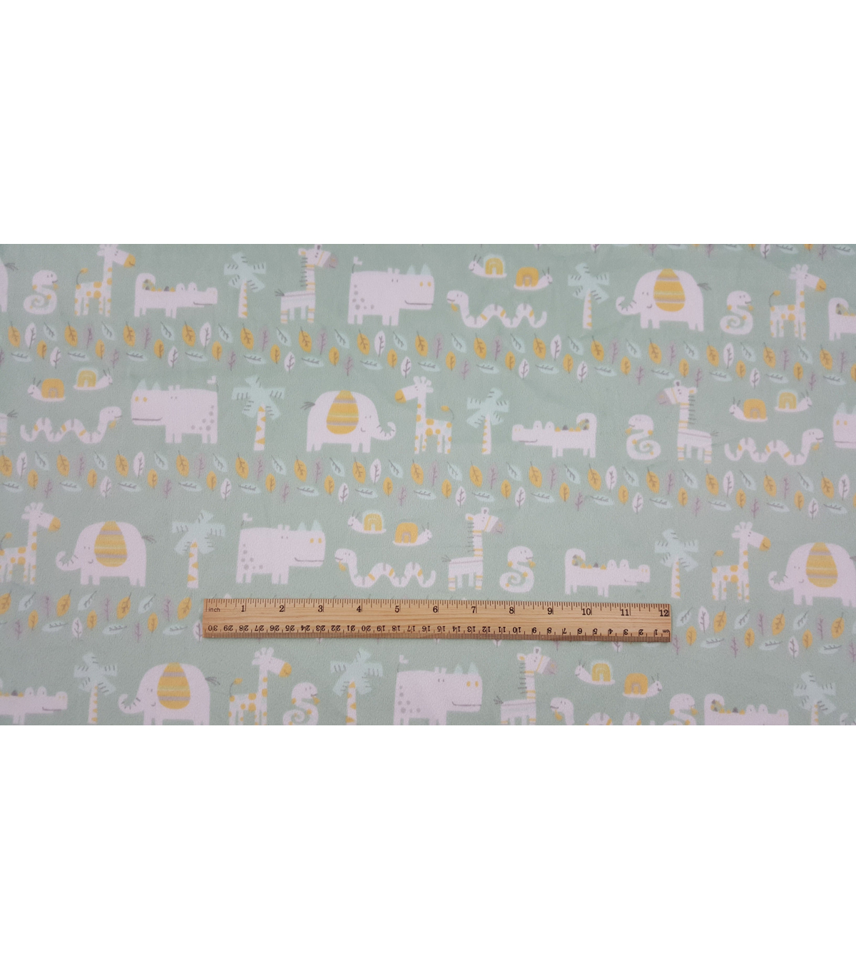 Soft & Comfy Nursery Fabric 57\u0022-Haydejungle Friends