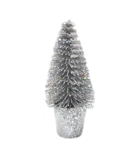 Maker's Holiday Small Sisal Tree-Silver