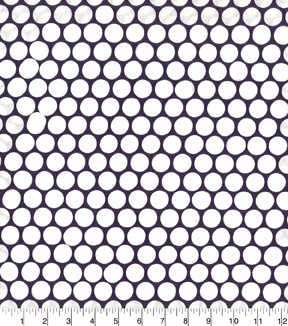 "Quilter's Showcase™ Cotton Fabric 44""-Dots Purple"