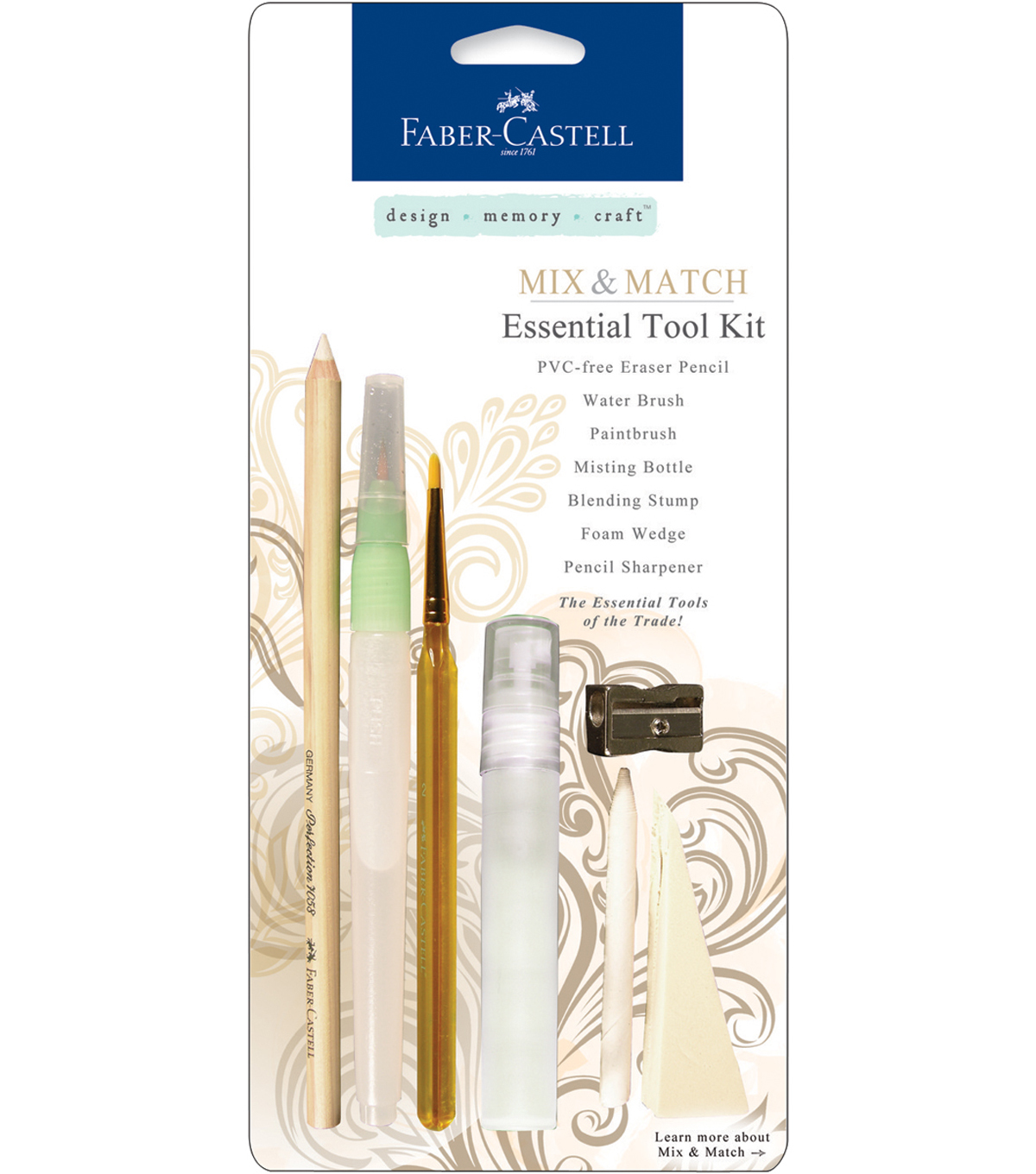 Faber-Castell design-memory-craft Mixed Media Essential Tool Kit