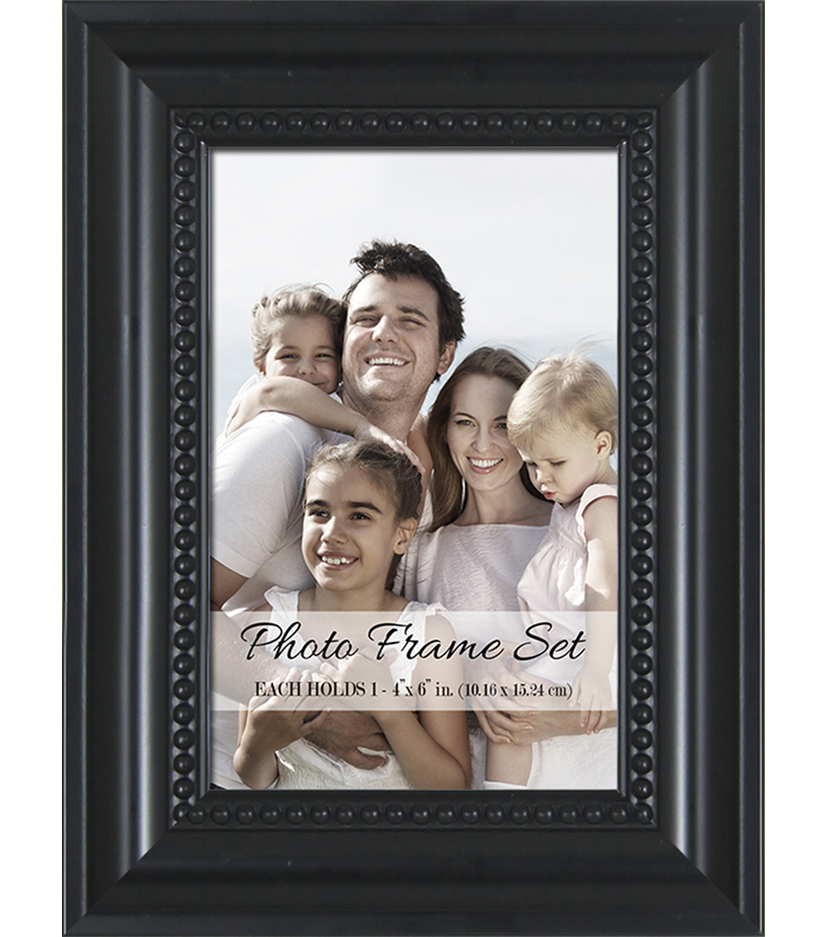 Photo Frames 2pk 4x6-Black