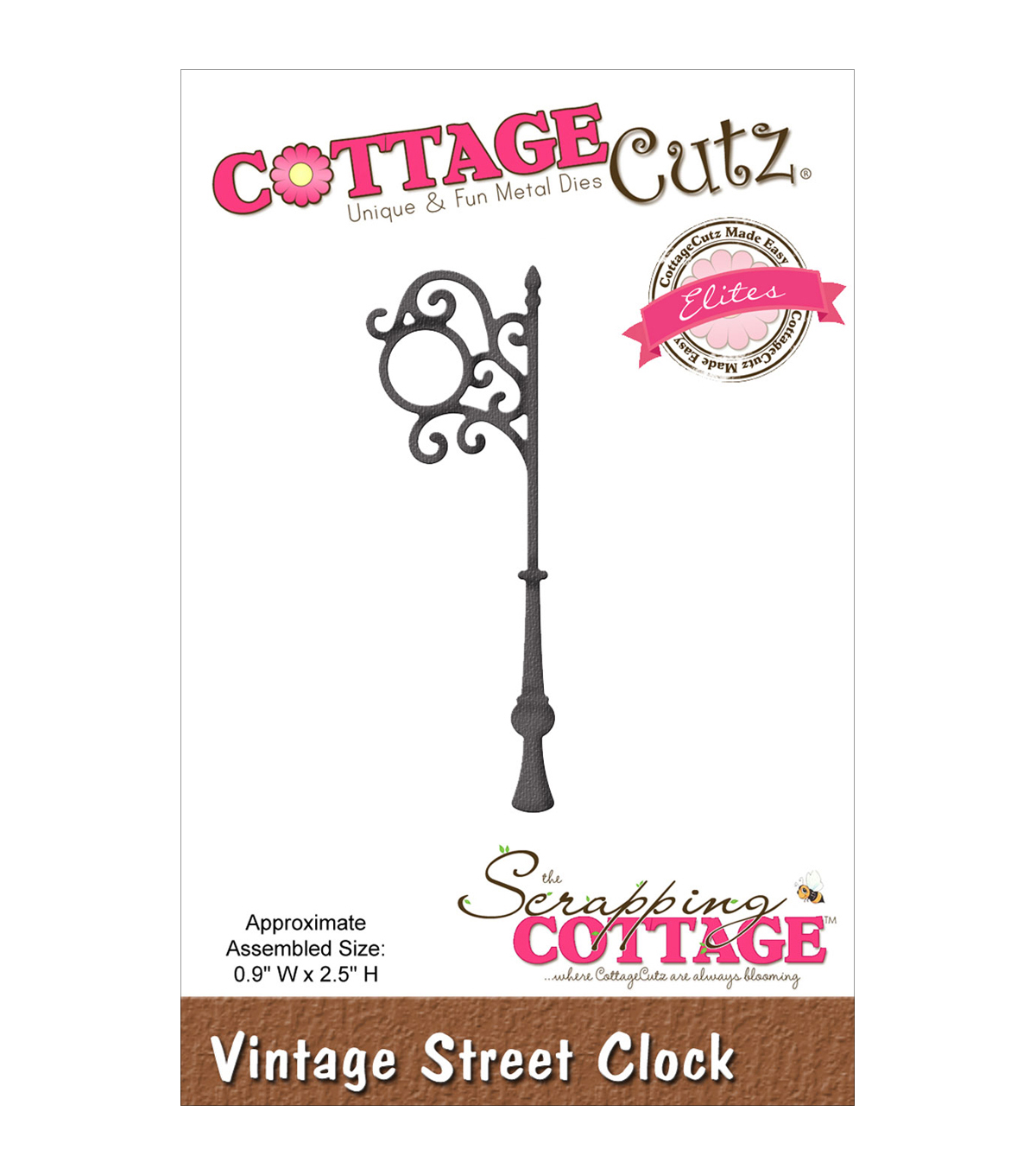 Vint Clock-cottagecutz Elit Die