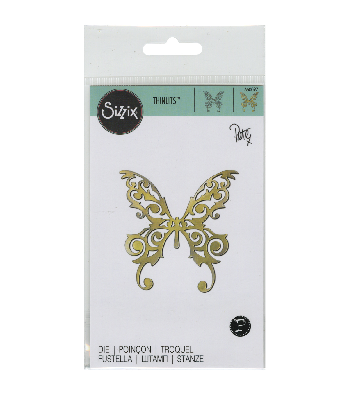 Sizzix Thinlits Magical Butterfly Die