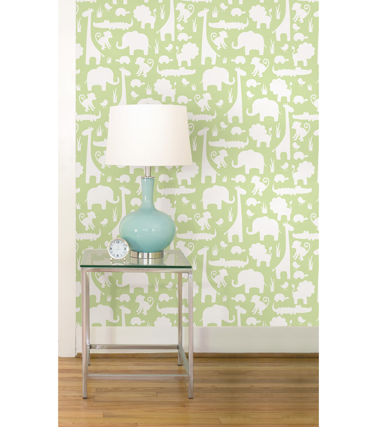 WallPops®NuWallpaper™Green Its A Jungle In Here Peel And Stick Wallpaper