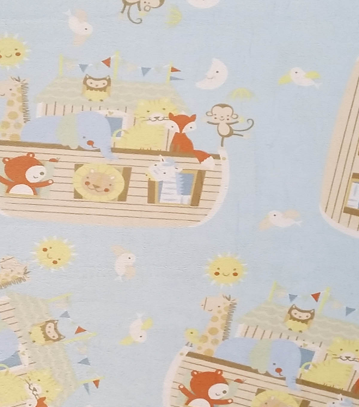 Soft N Comfy Fabric Noah'S Ark